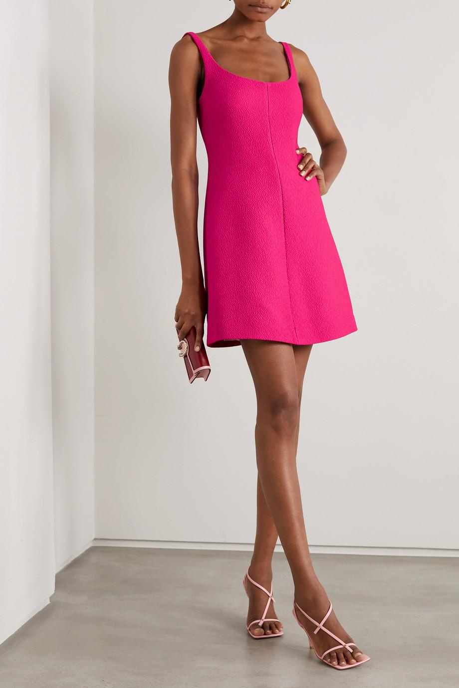 Emilia Wickstead Talia cloqué mini dress