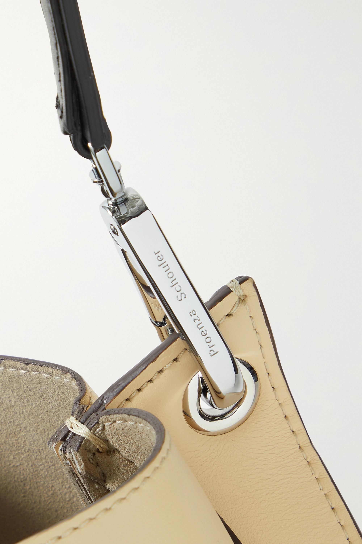 Proenza Schouler Sac porté épaule en cuir Arch Large