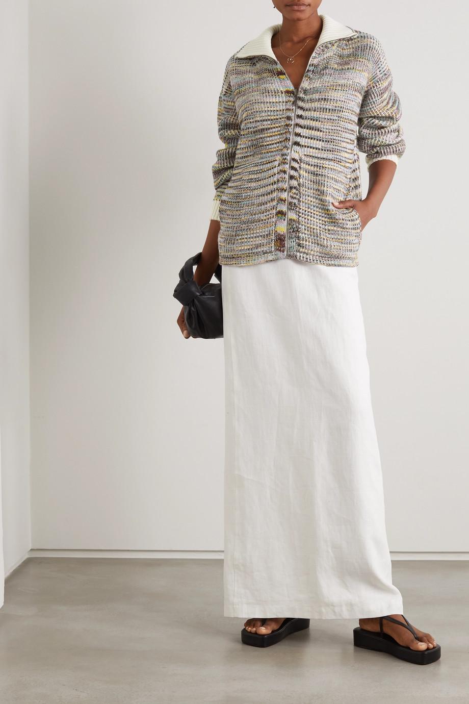 Missoni Cardigan en cachemire et laine mélangés à mailles crochetées