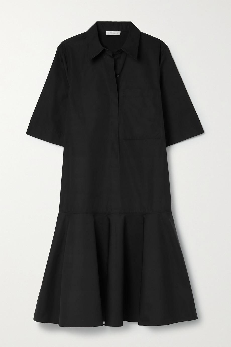 Lafayette 148 Robe-chemise en popeline de coton Bailey