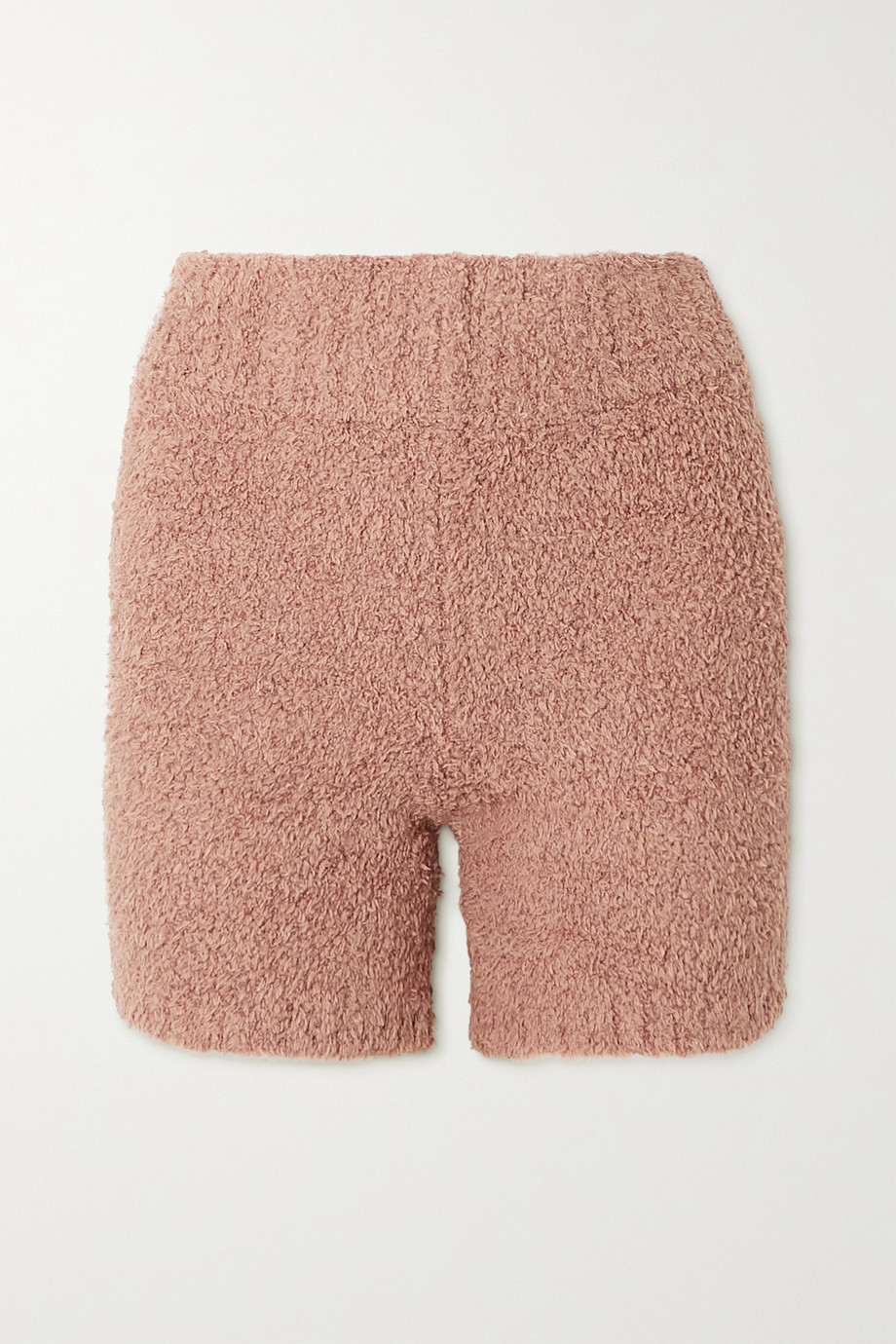 SKIMS Cozy Knit Short – Rose Clay – Shorts aus Bouclé