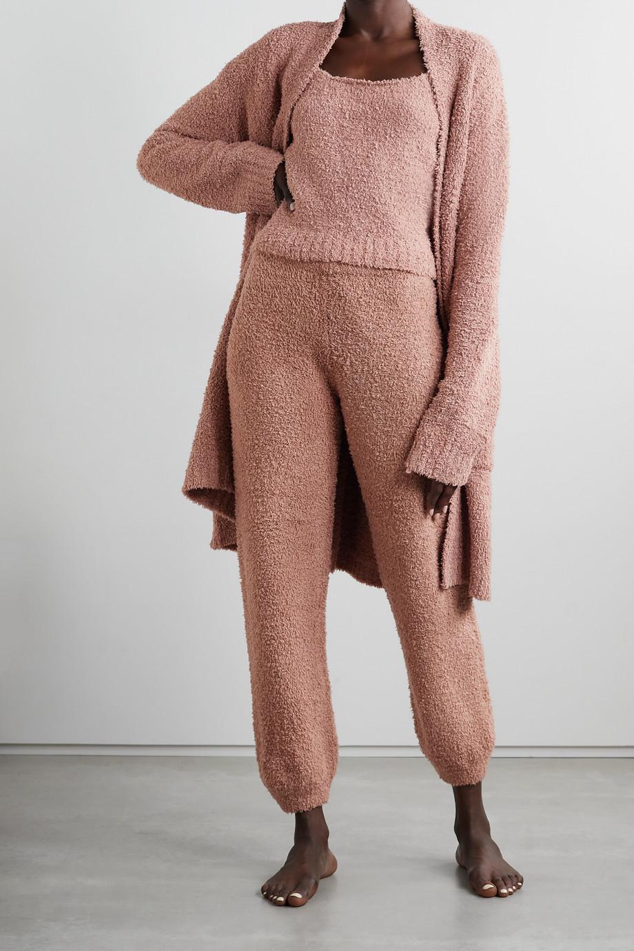 SKIMS Cozy Knit Jogger – Rose Clay – Jogginghose aus Bouclé
