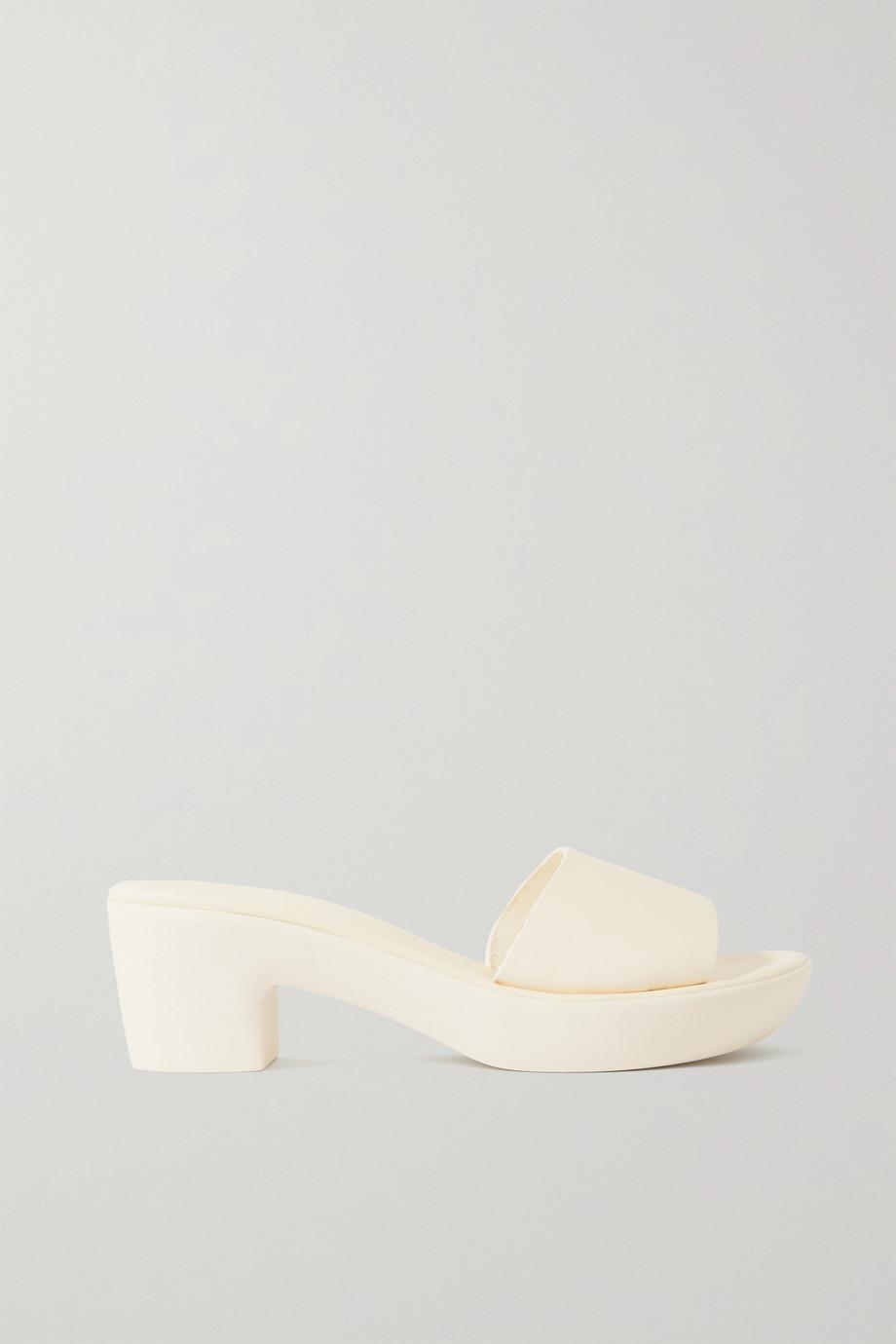 Ancient Greek Sandals Katina Comfort Mules aus Leder