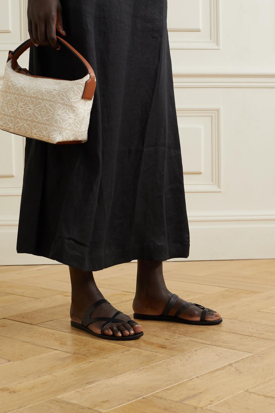 Ancient Greek Sandals Theoni leather sandals