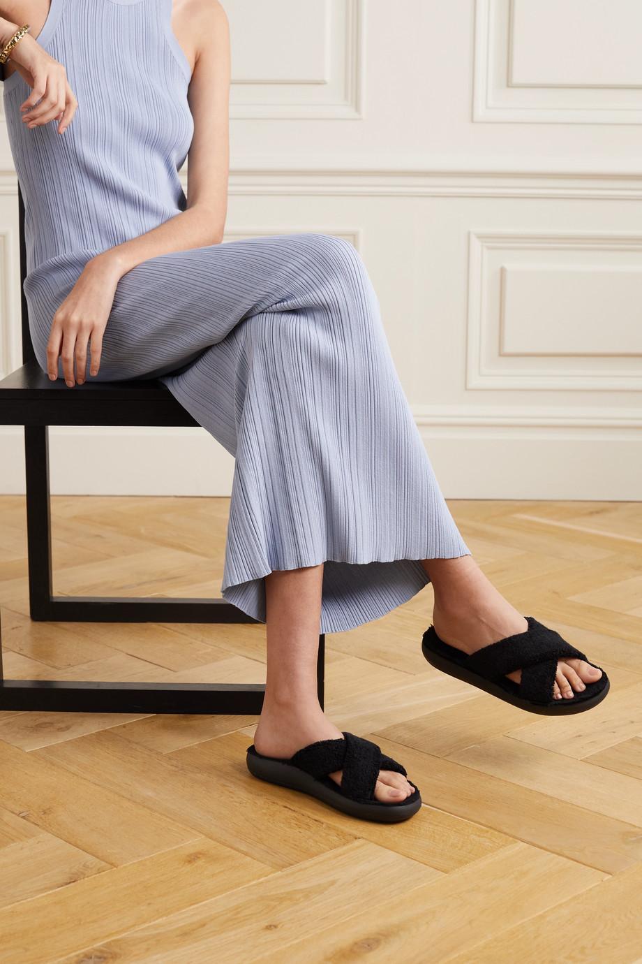 Ancient Greek Sandals Thais Comfort Pantoletten aus Frottee