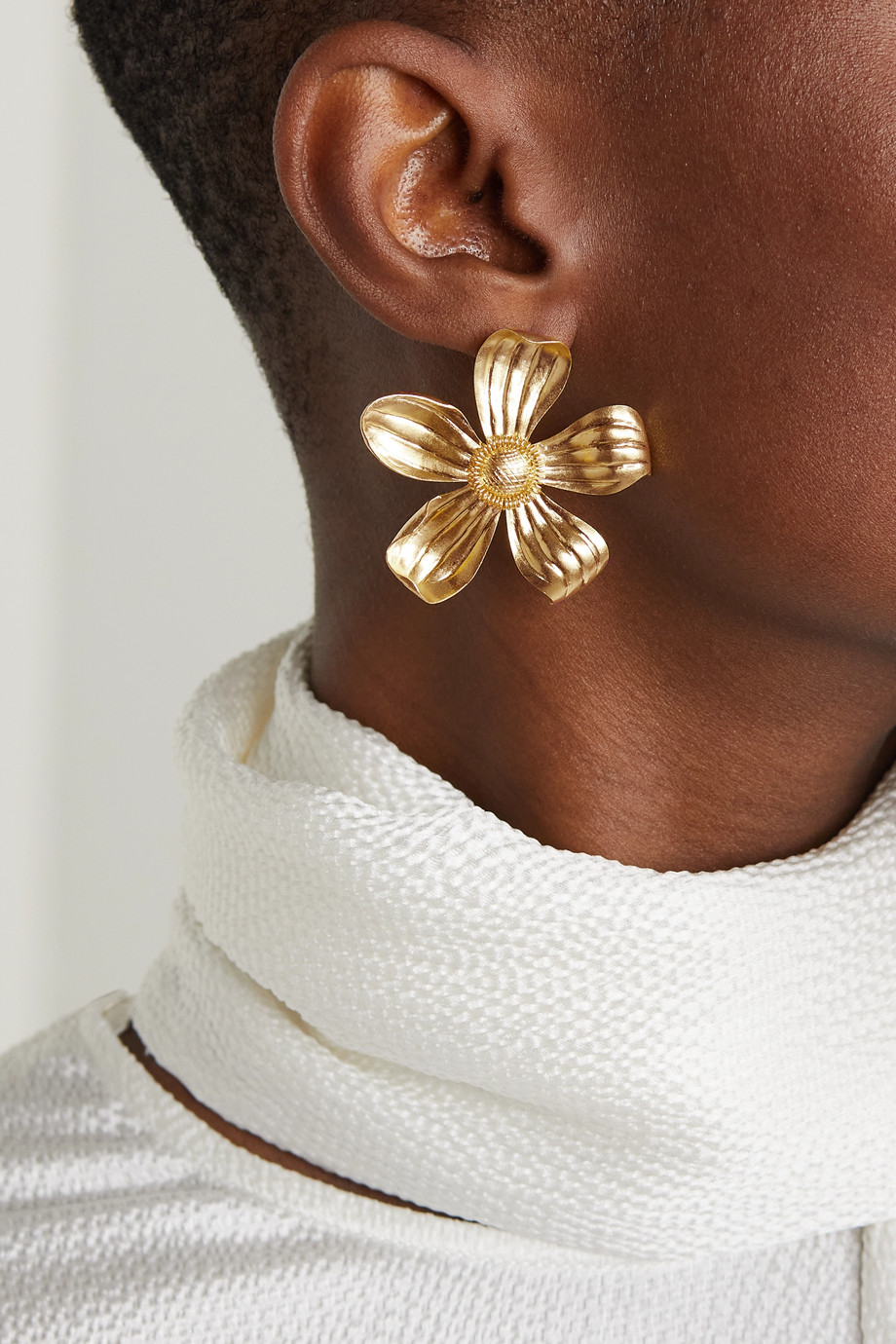 Pippa Small Ohrringe aus 18 Karat Gold