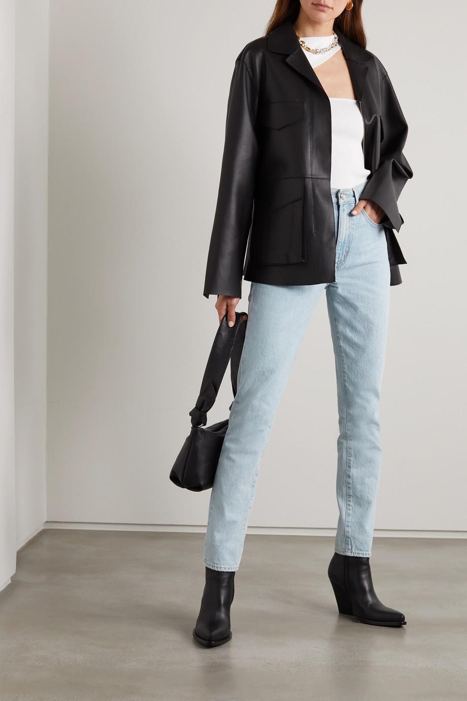 SLVRLAKE Jean slim taille haute en coton biologique Roxy - NET SUSTAIN