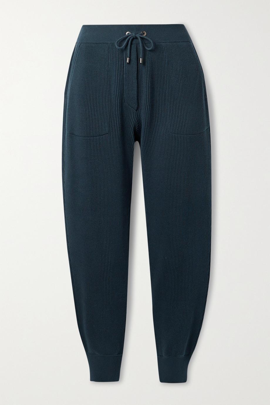 Brunello Cucinelli Pantalon de survêtement en coton côtelé