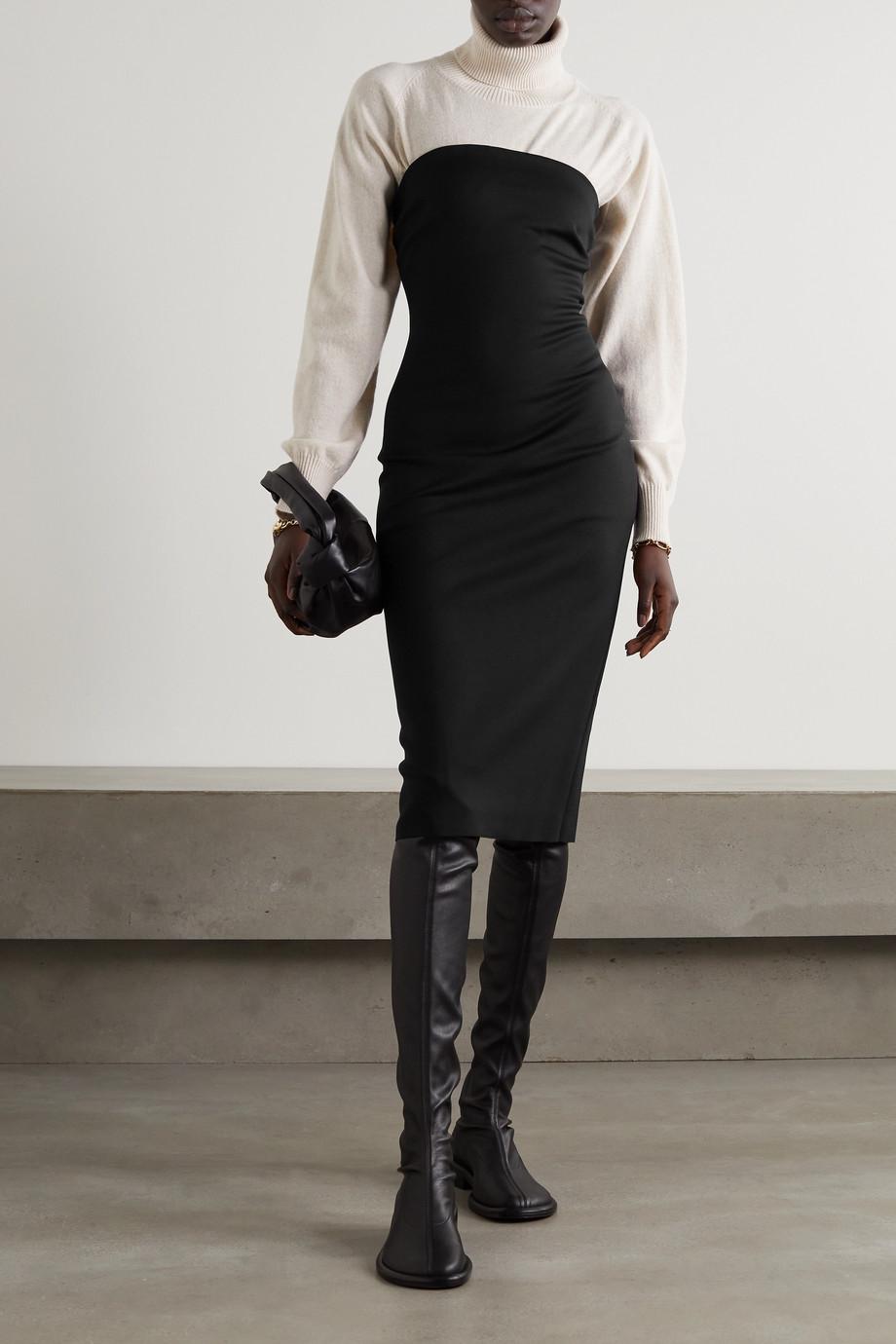 Rosetta Getty Strapless stretch-jersey midi dress