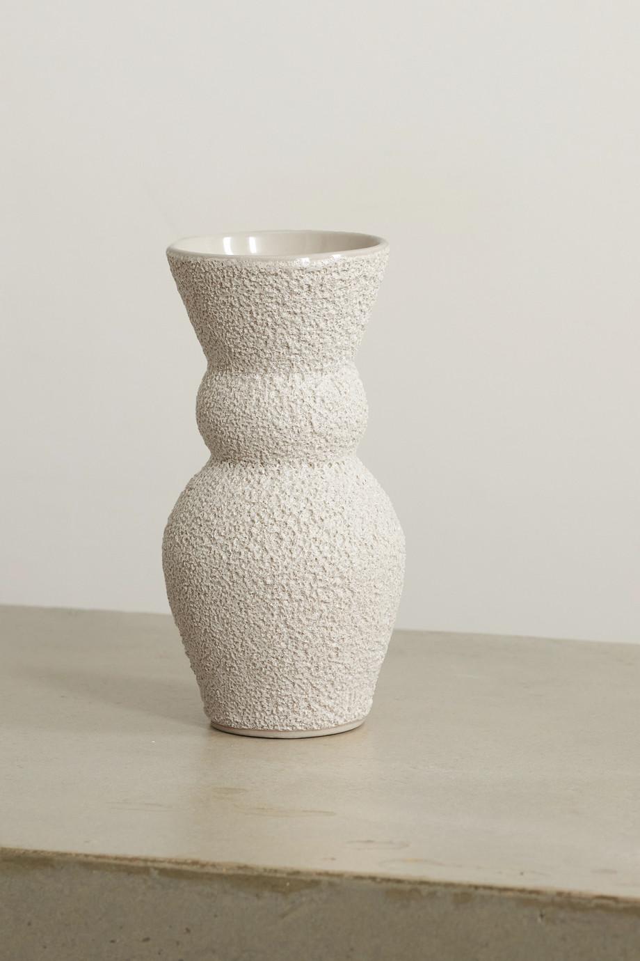 Marloe Marloe Lucie glazed ceramic vase