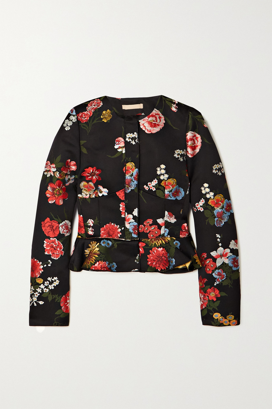 Brock Collection Talia Jacke aus Jacquard aus einer Baumwollmischung mit Blumenmuster