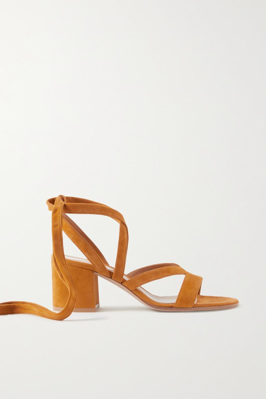 Gianvito Rossi Janis 60 suede sandals