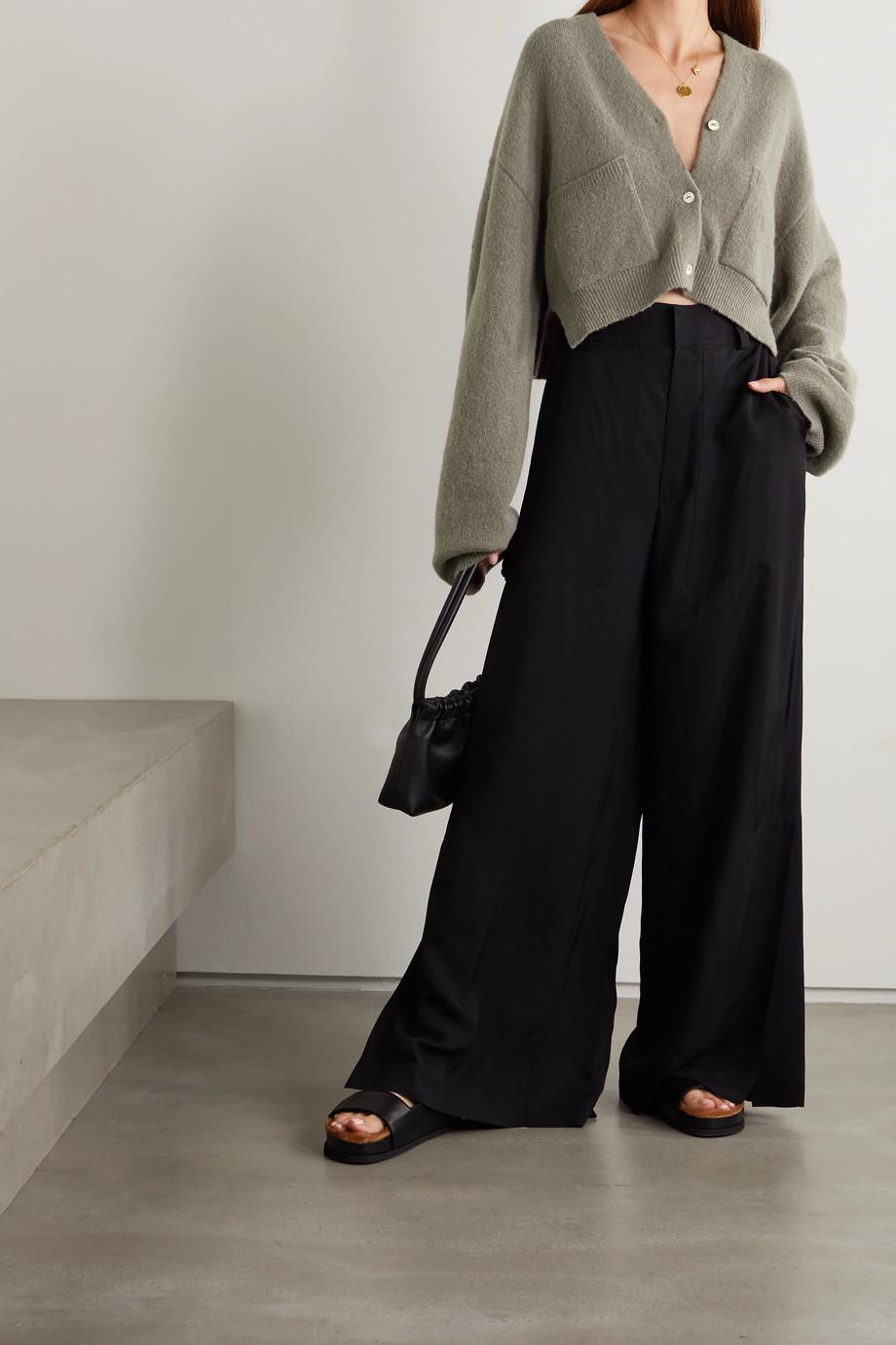 Nanushka Effie Cardigan aus einer Wollmischung