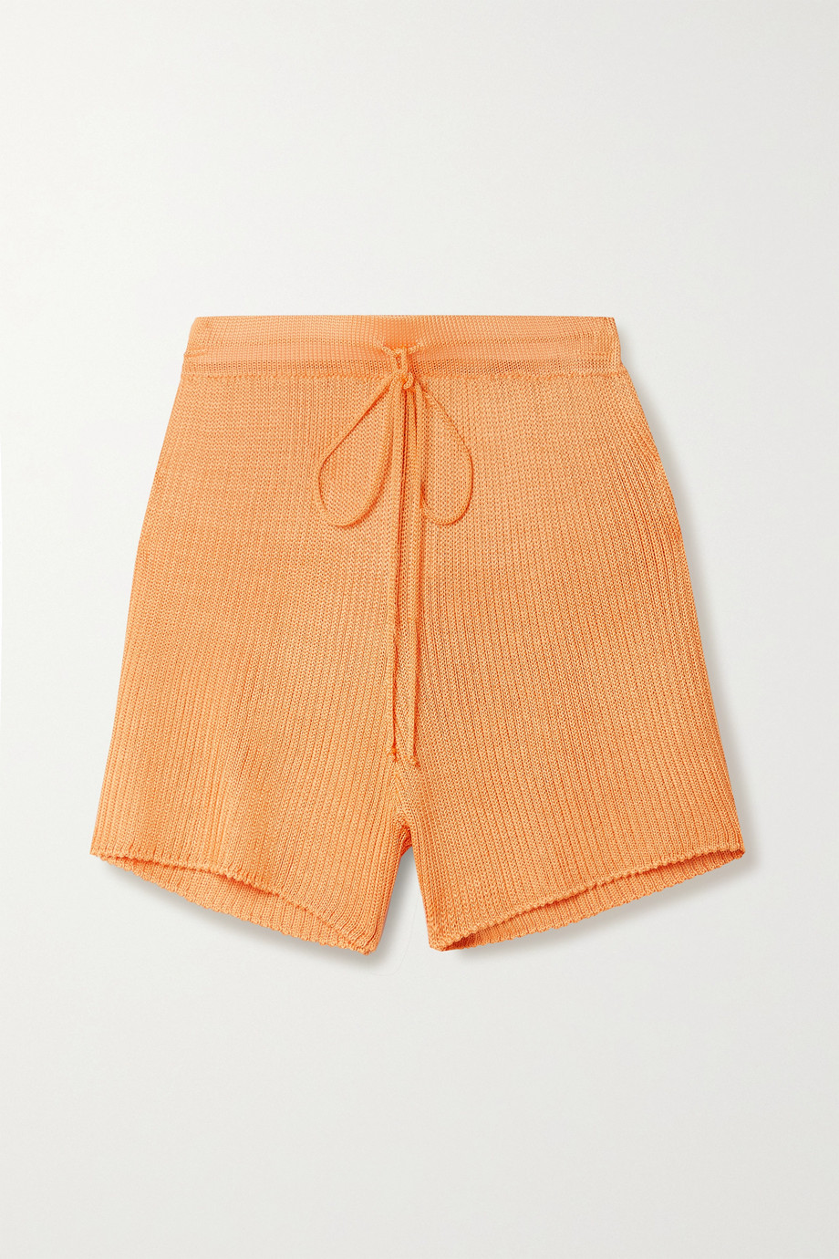 Calle Del Mar + NET SUSTAIN ribbed-knit shorts