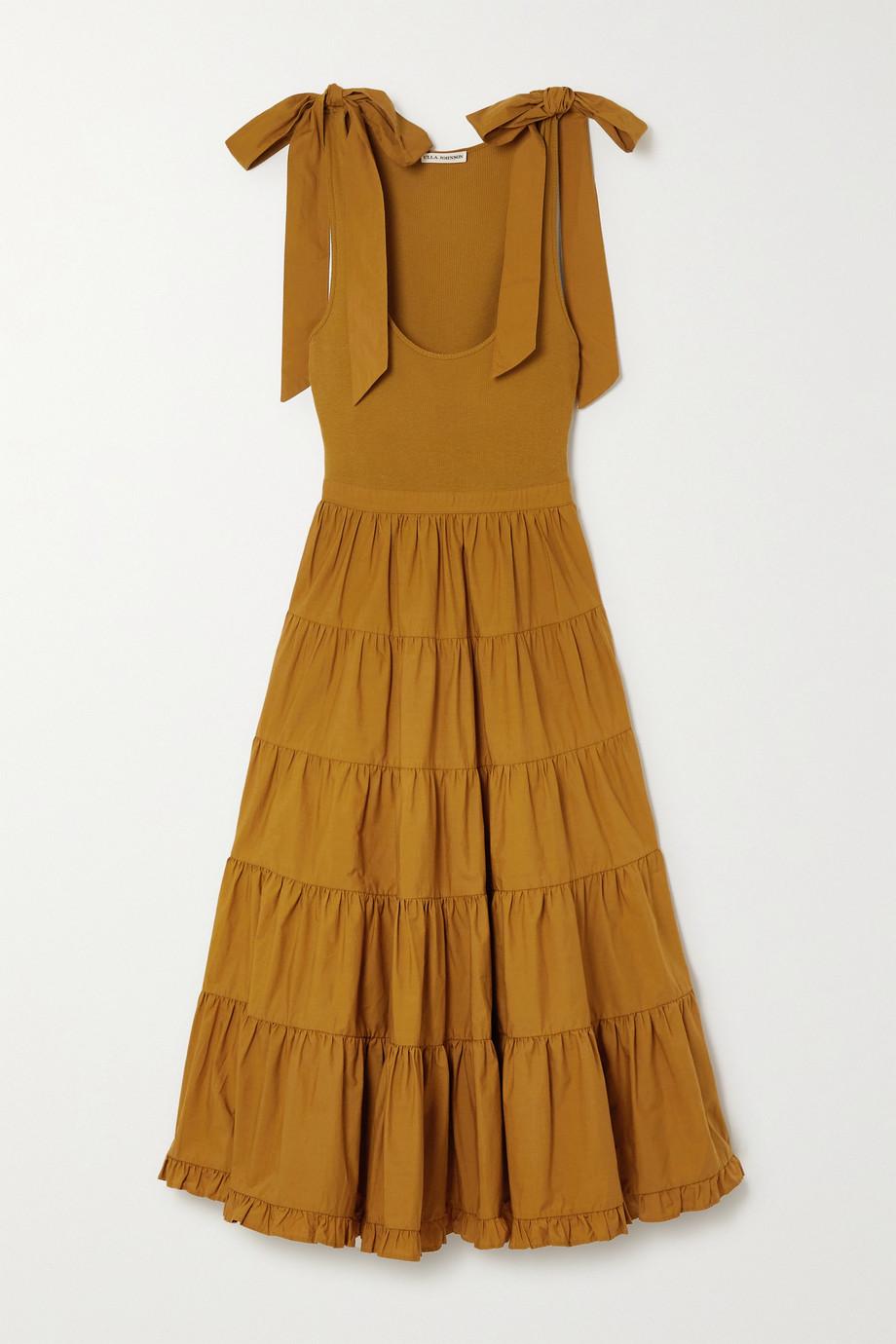 Ulla Johnson Hope tiered cotton midi dress