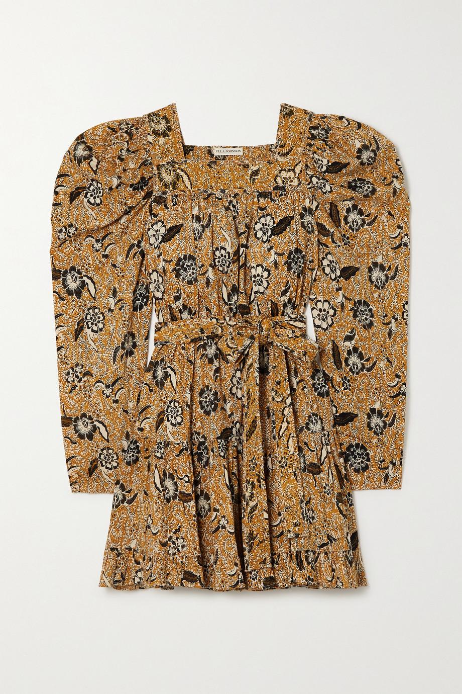 Ulla Johnson Nailah floral-print cotton-blend mini dress