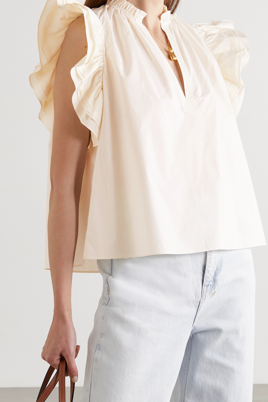 Ulla Johnson Elena ruffled cotton blouse