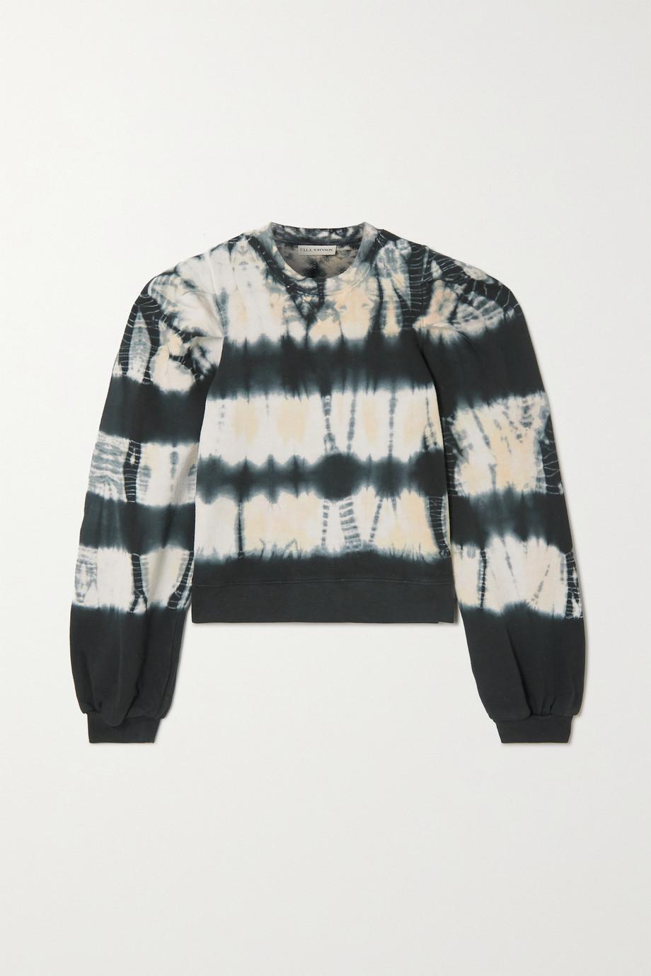 Ulla Johnson Graham tie-dyed cotton-jersey sweatshirt