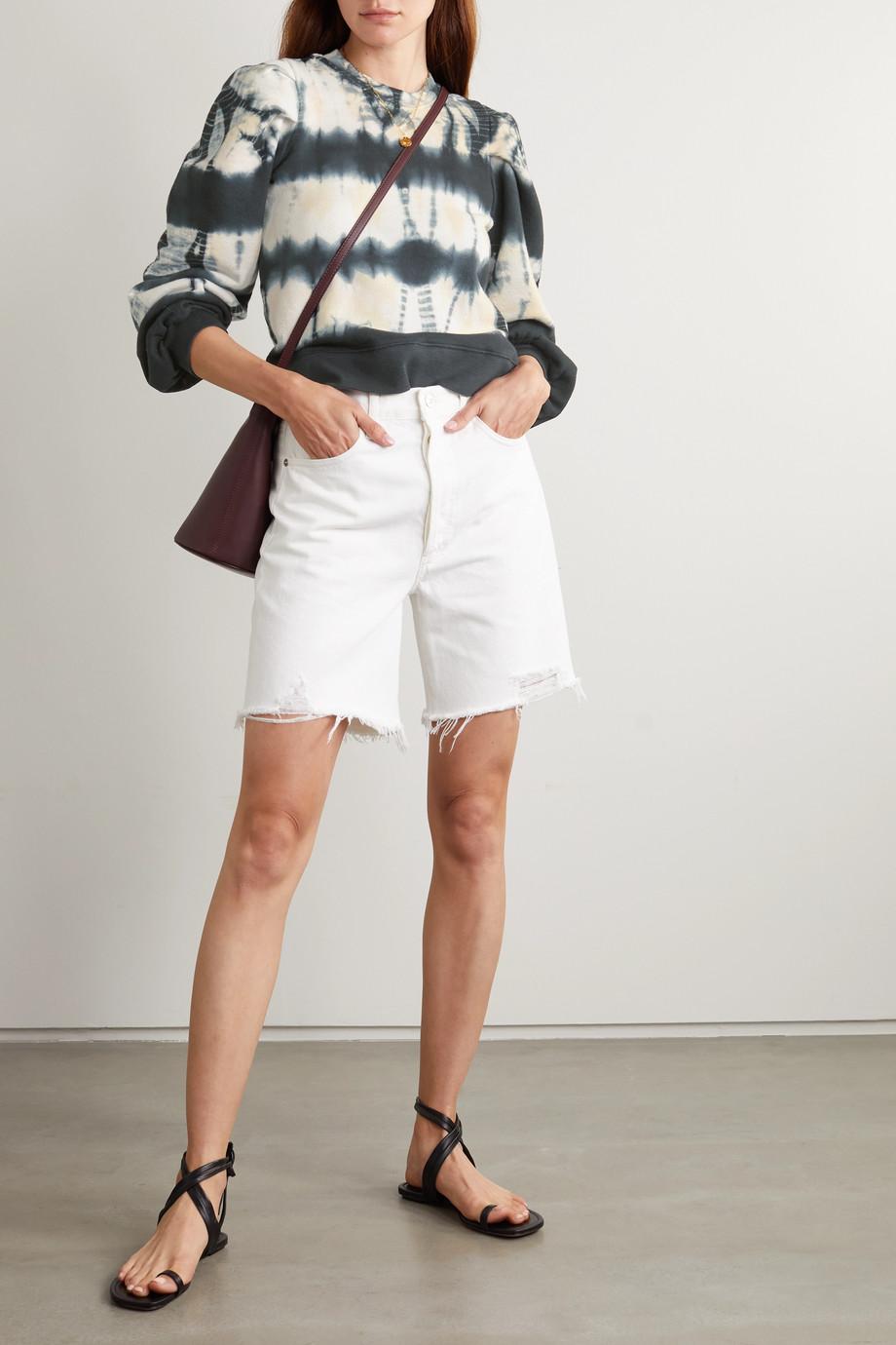 Ulla Johnson Graham Sweatshirt aus Baumwoll-Jersey mit Batikmuster
