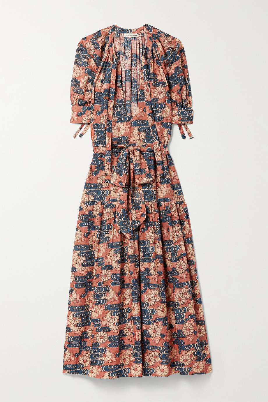 Ulla Johnson Selena floral-print cotton-blend voile midi dress