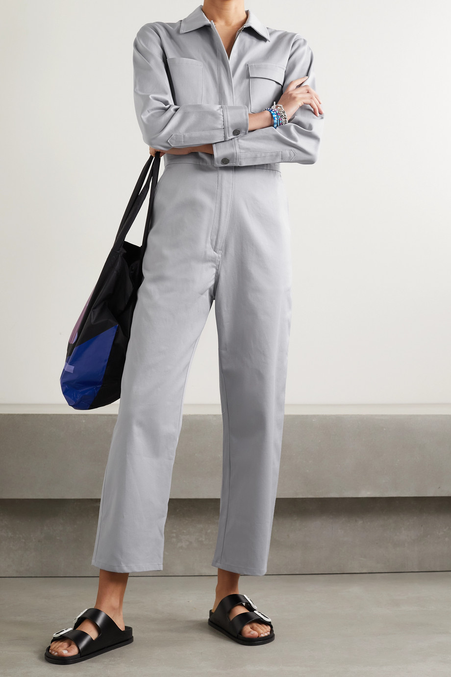 Rivet Utility Combi-pantalon en serge de coton mélangé Bigwig - NET SUSTAIN