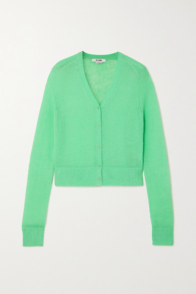 RE/DONE - 60s Knitted Cardigan - Mint