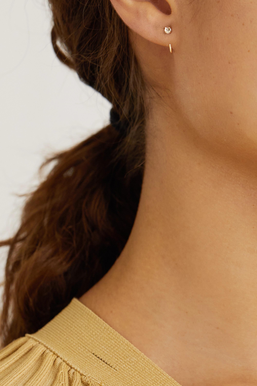 Melissa Joy Manning Ohrringe aus recyceltem 14 Karat Gold mit Topasen