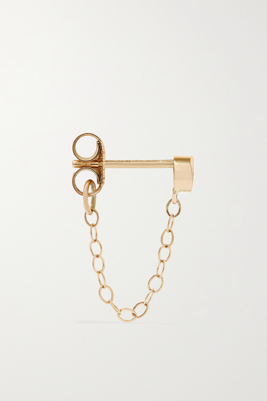 Melissa Joy Manning 14-karat recycled gold emerald earrings