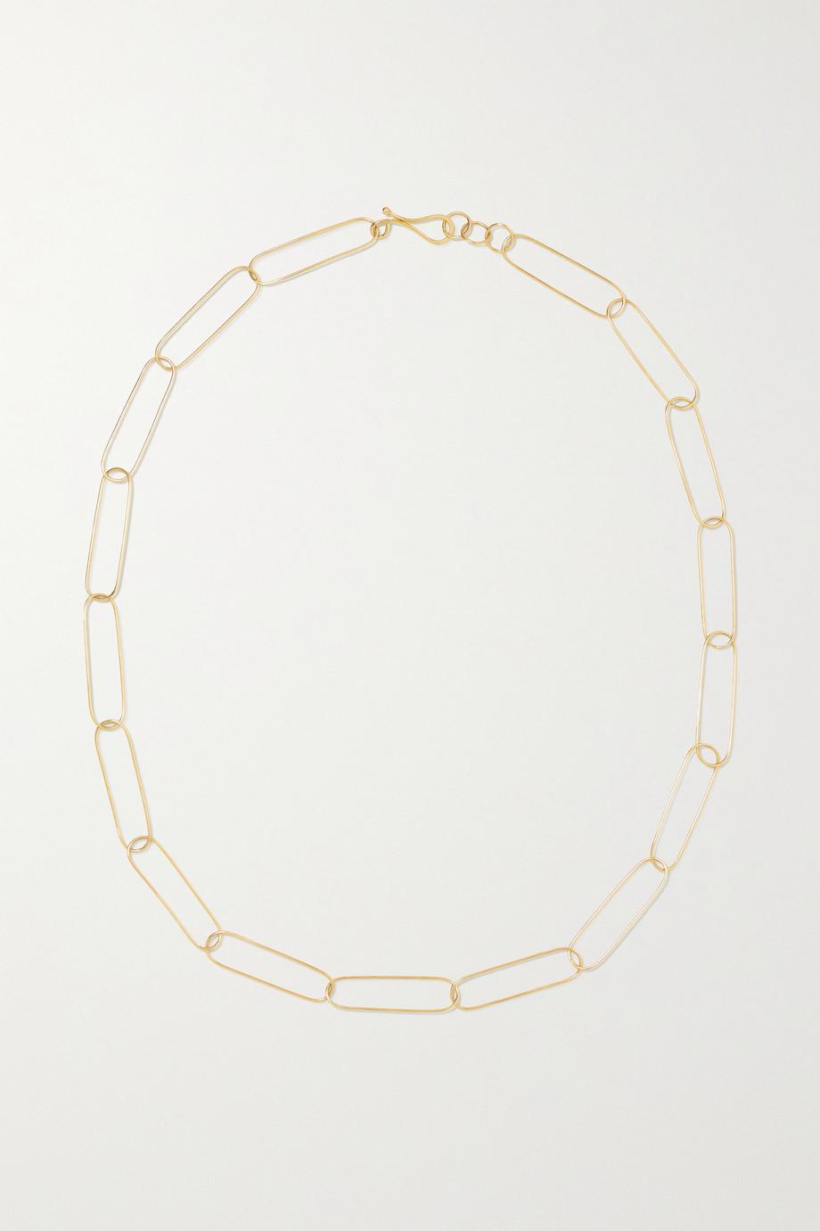 Melissa Joy Manning Kette aus recyceltem 14 Karat Gold