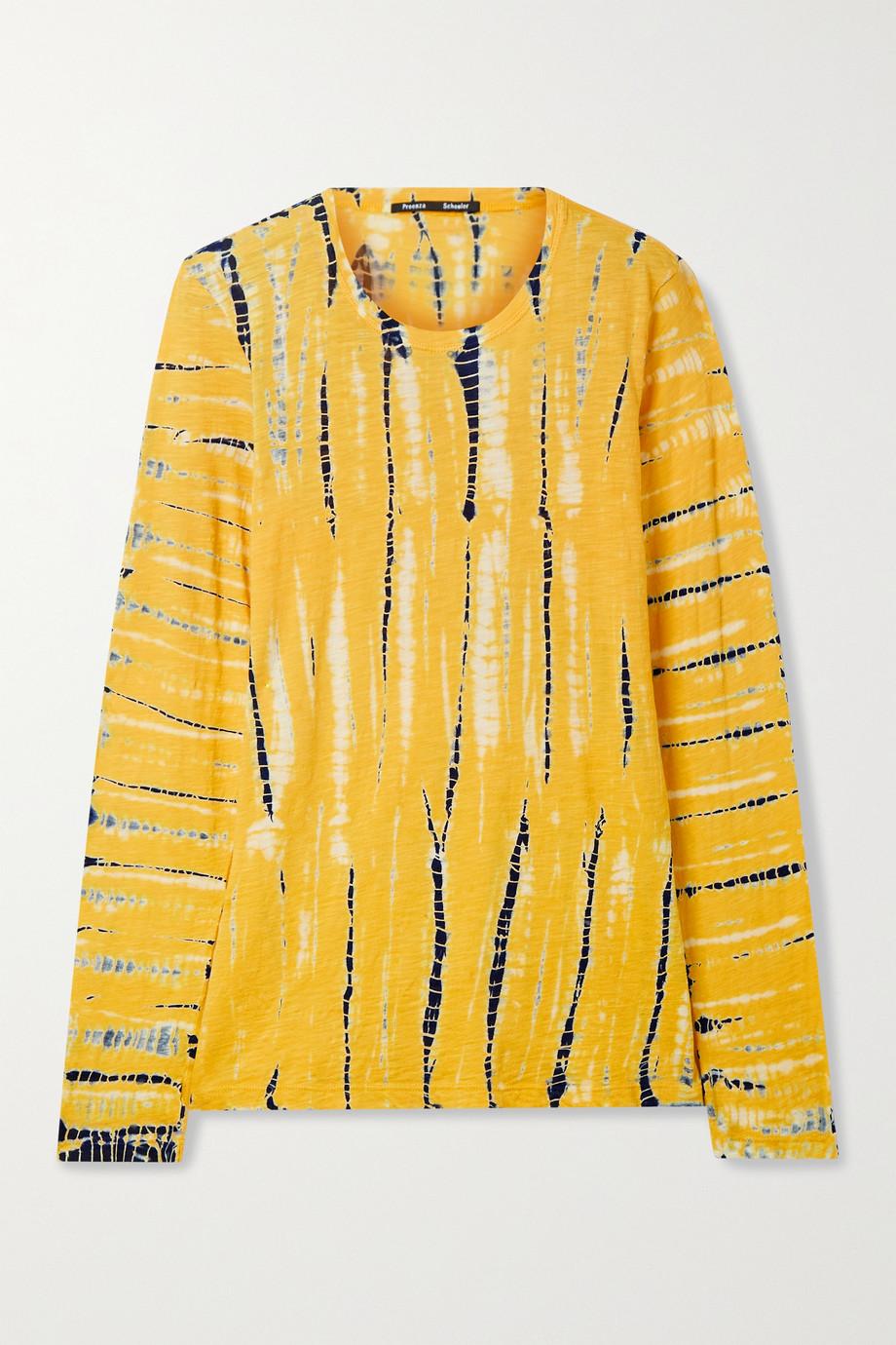 Proenza Schouler Haut en jersey de coton tie & dye