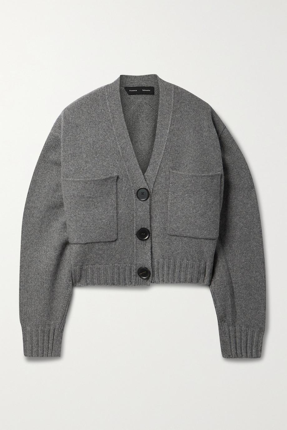 Proenza Schouler Cropped cashmere-blend cardigan
