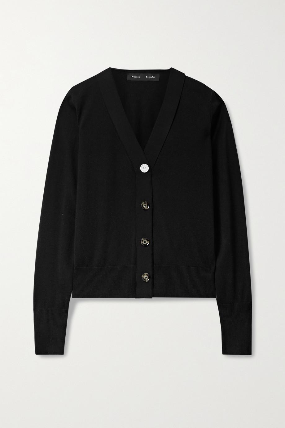 Proenza Schouler Silk and cashmere-blend cardigan