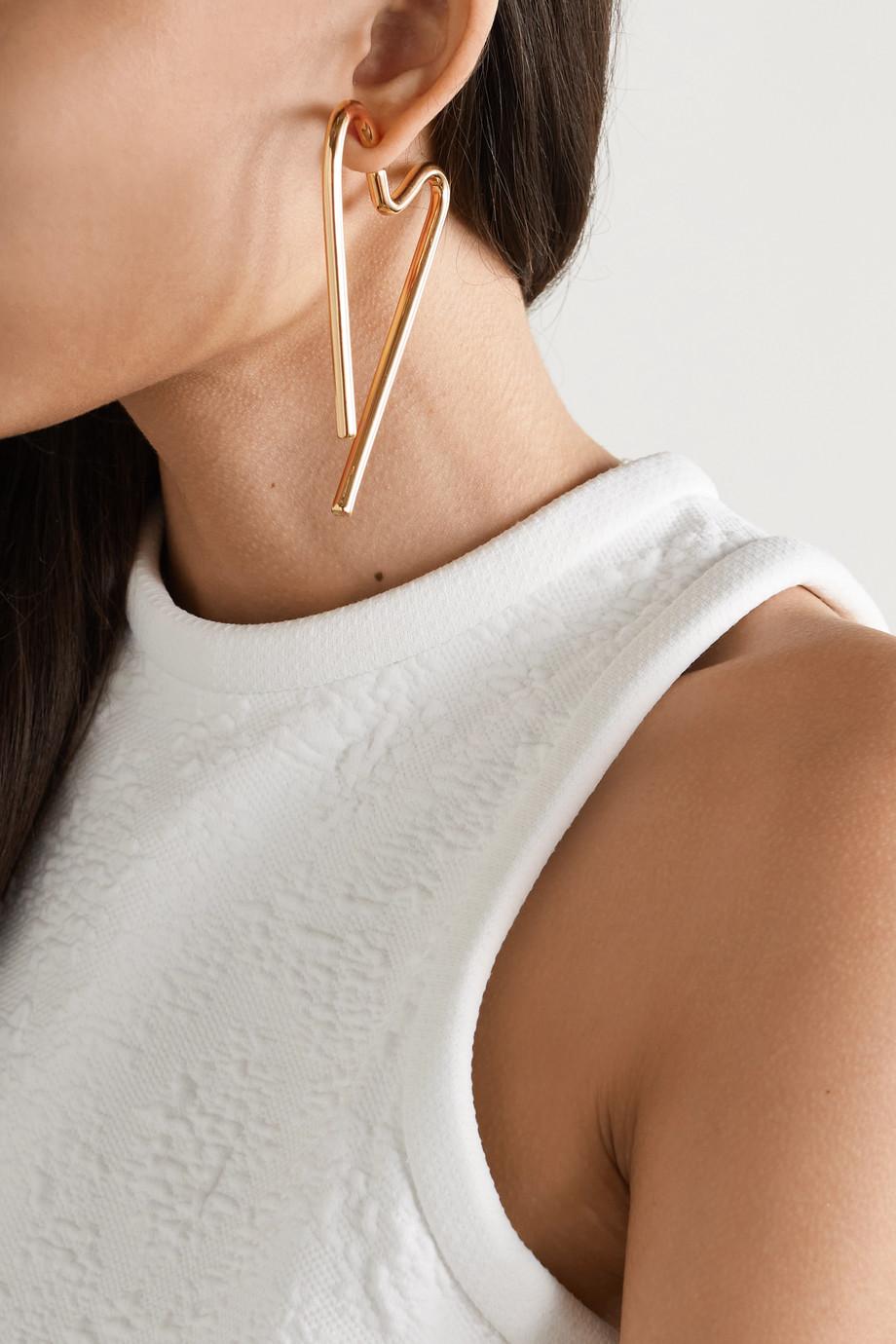 AZ Factory Gold-tone earrings