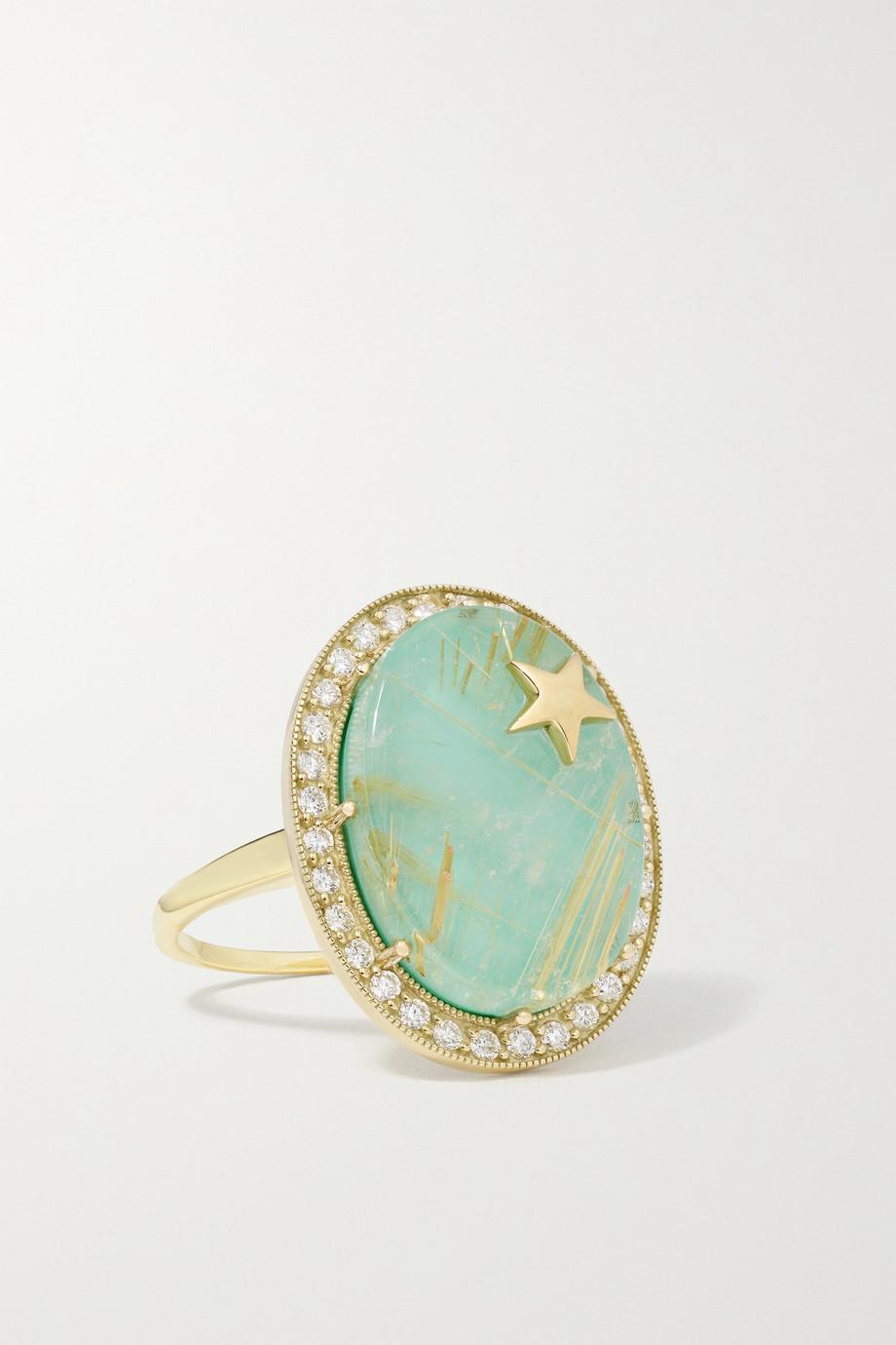 Andrea Fohrman Zenith 14-karat gold multi-stone doublet ring