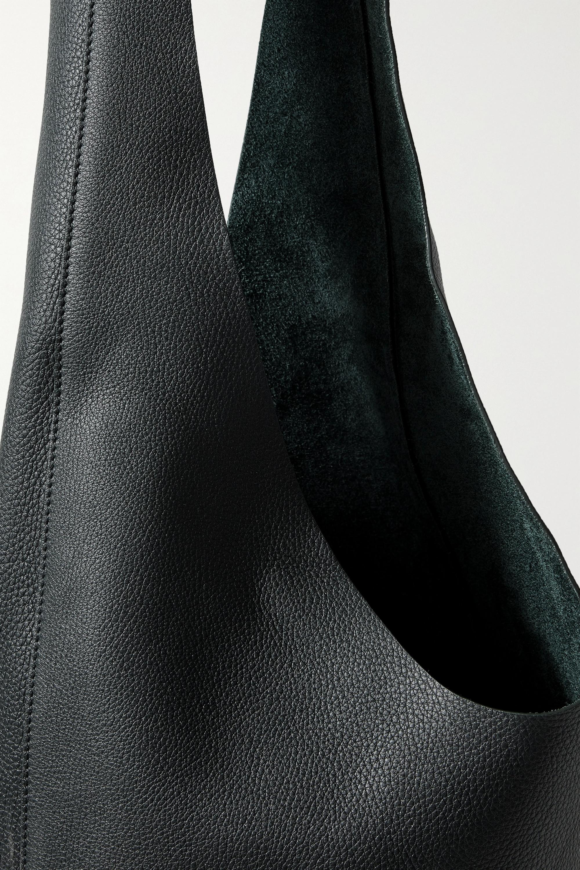 The Row Sac porté épaule en cuir texturé Bindle Three