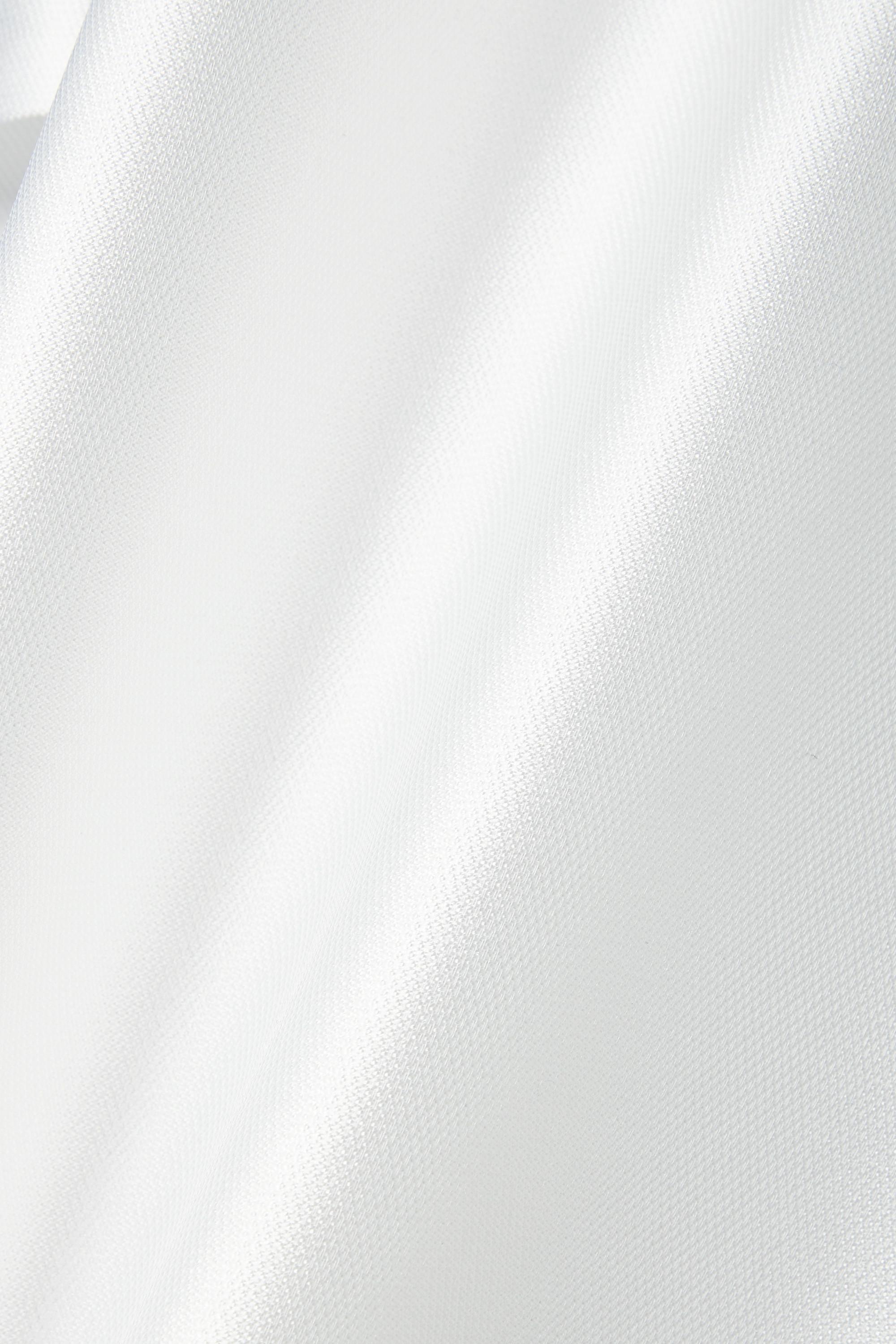 Reem Acra Robe aus Piqué zum Binden
