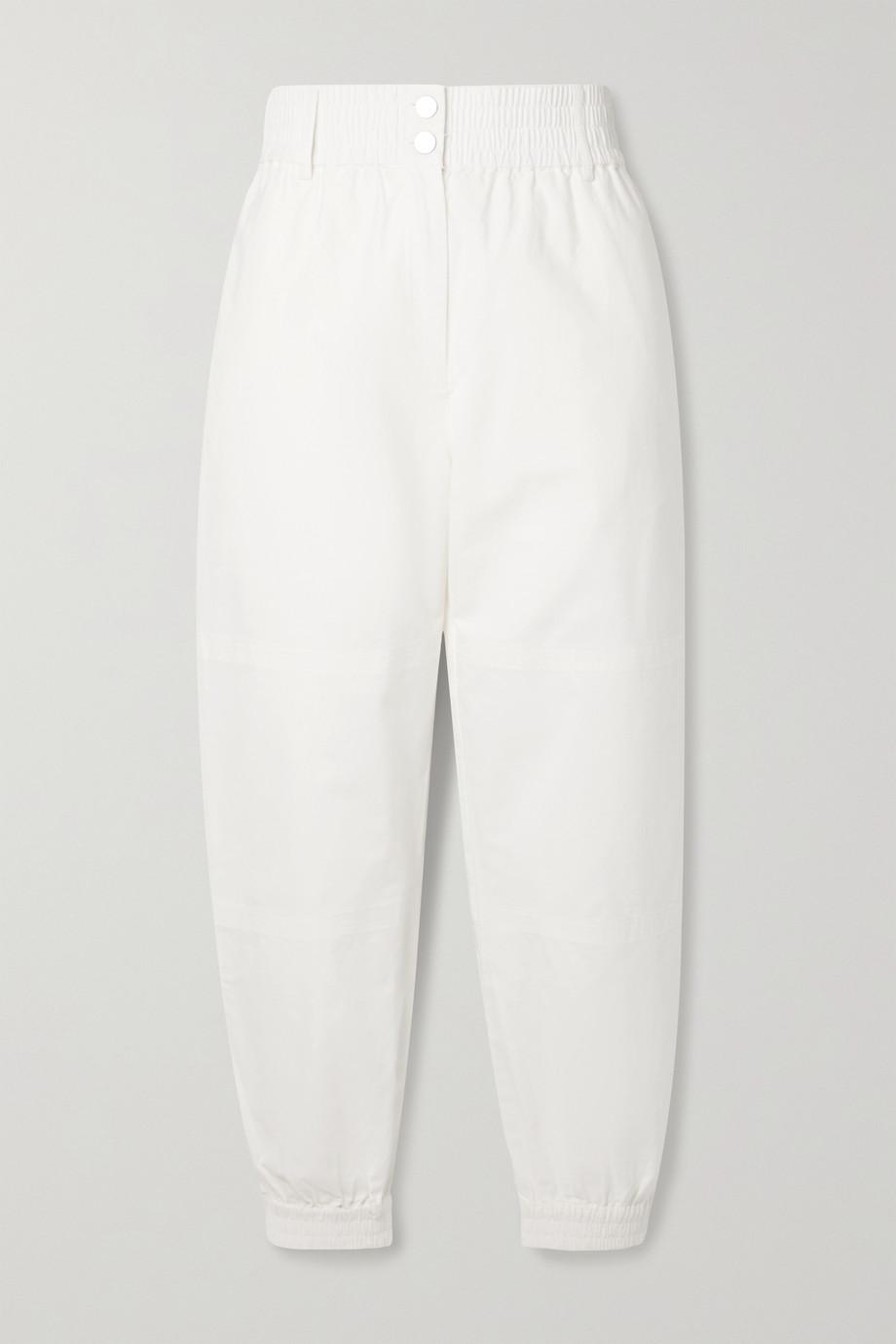 The Range Pantalon fuselé en serge de coton Arid