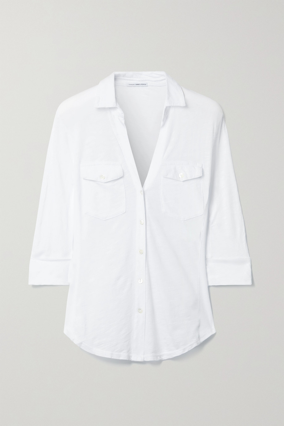 James Perse Slub Supima cotton shirt