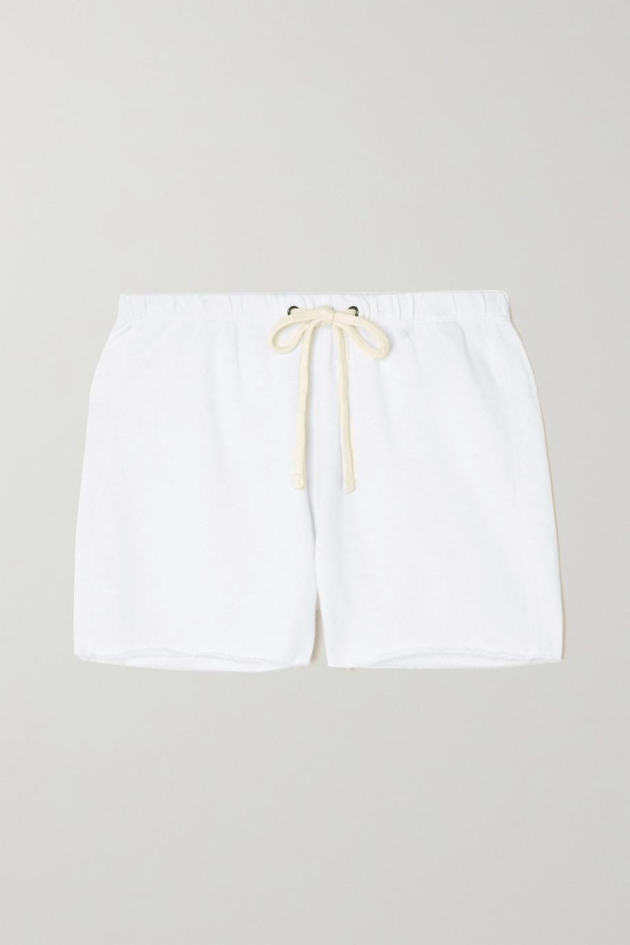 James Perse Supima cotton-jersey shorts