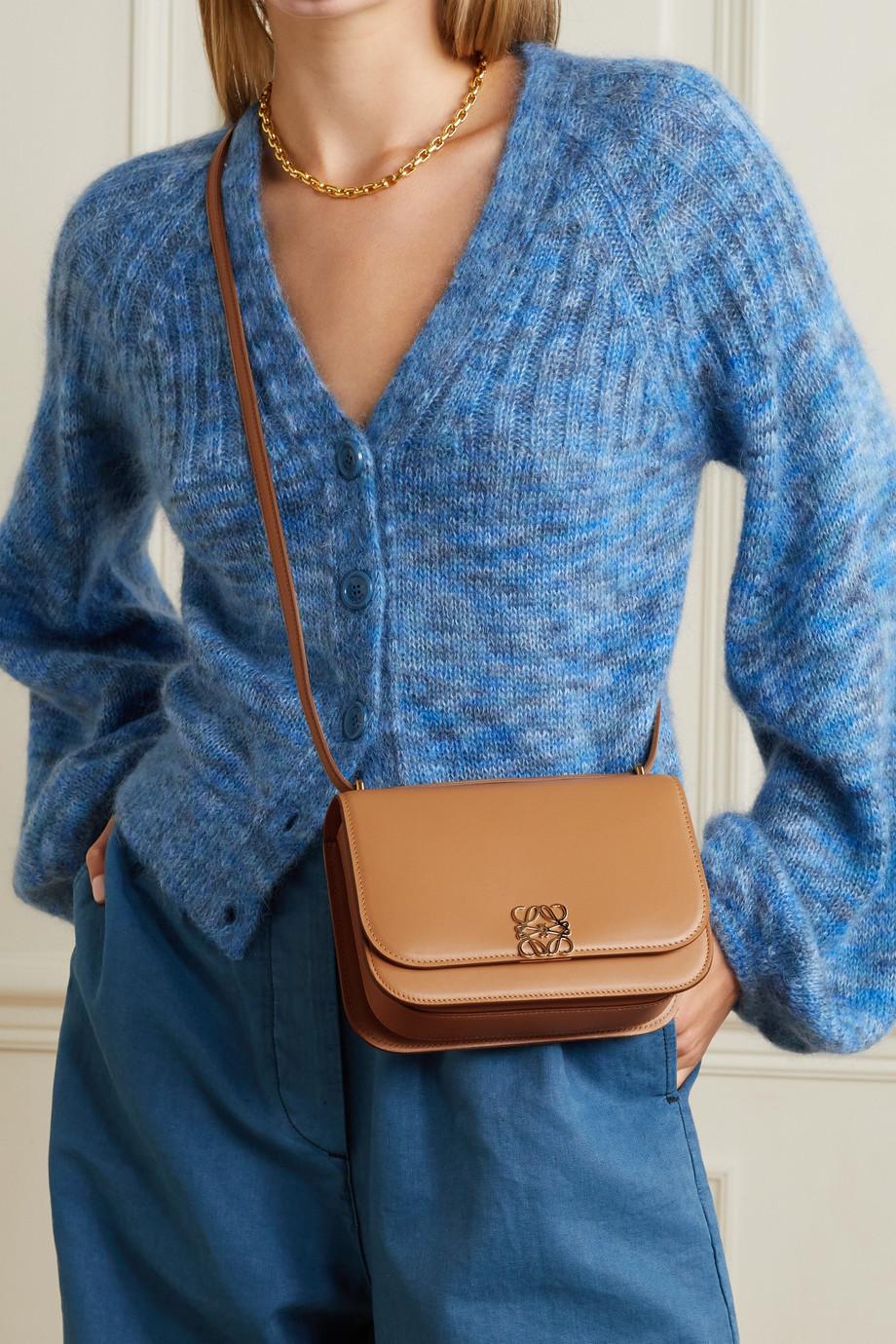 Loewe Goya small leather shoulder bag