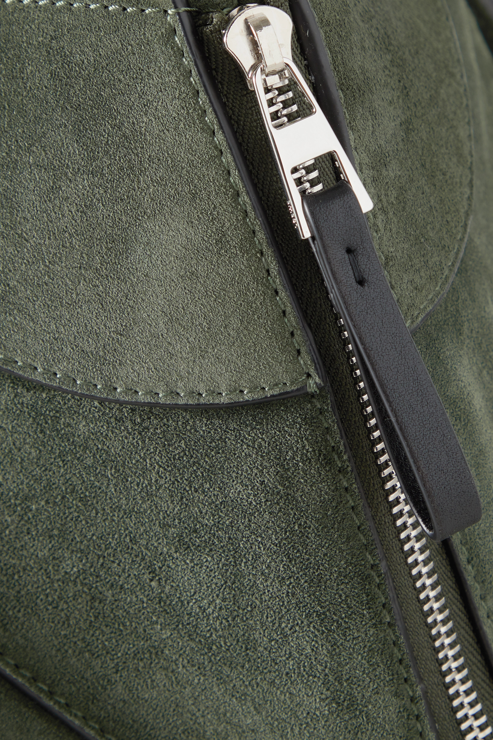 Loewe Hammock small leather and suede shoulder bag