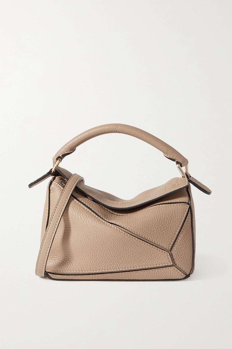 Loewe Puzzle mini textured-leather shoulder bag