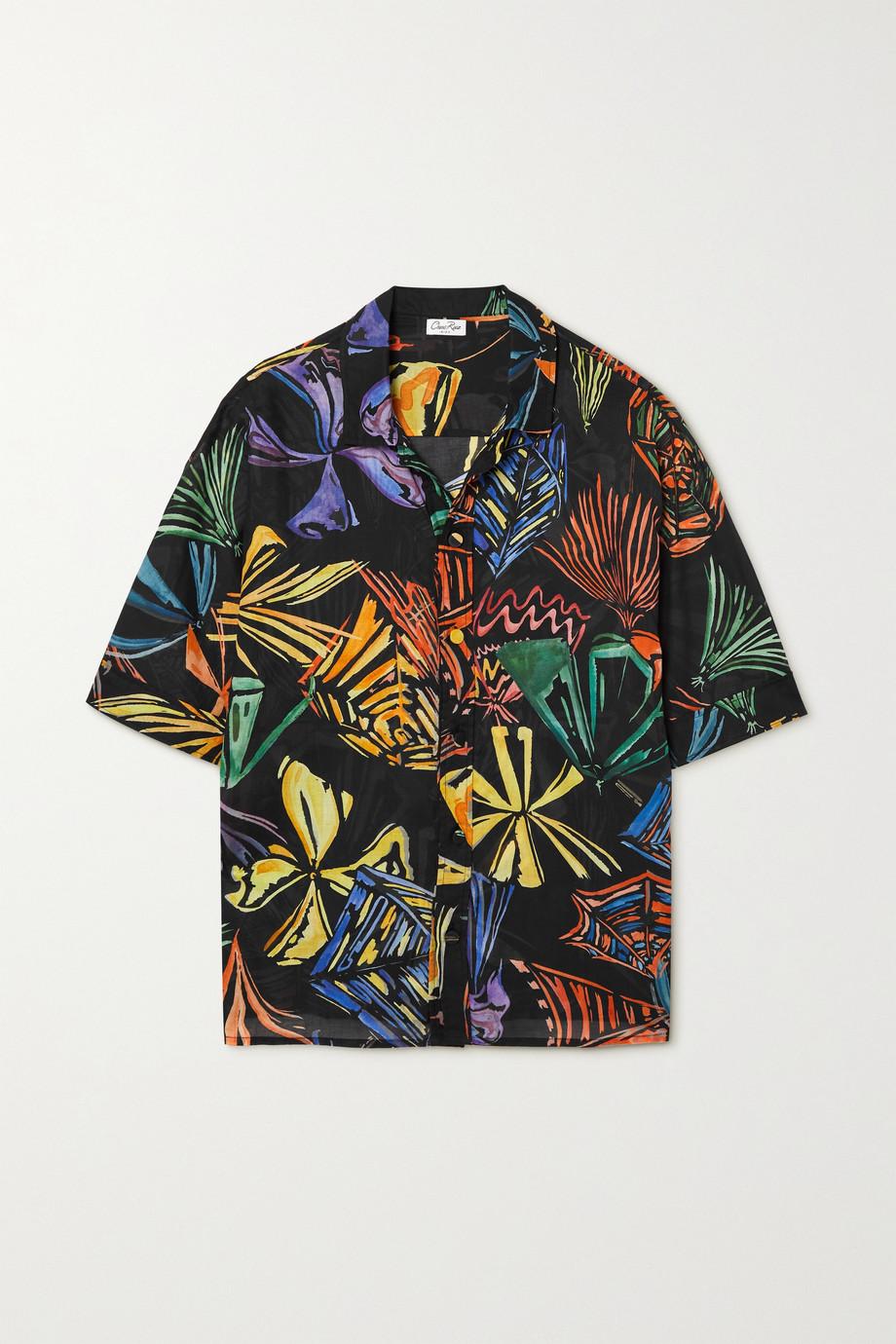 Charo Ruiz Remy printed cotton-voile shirt