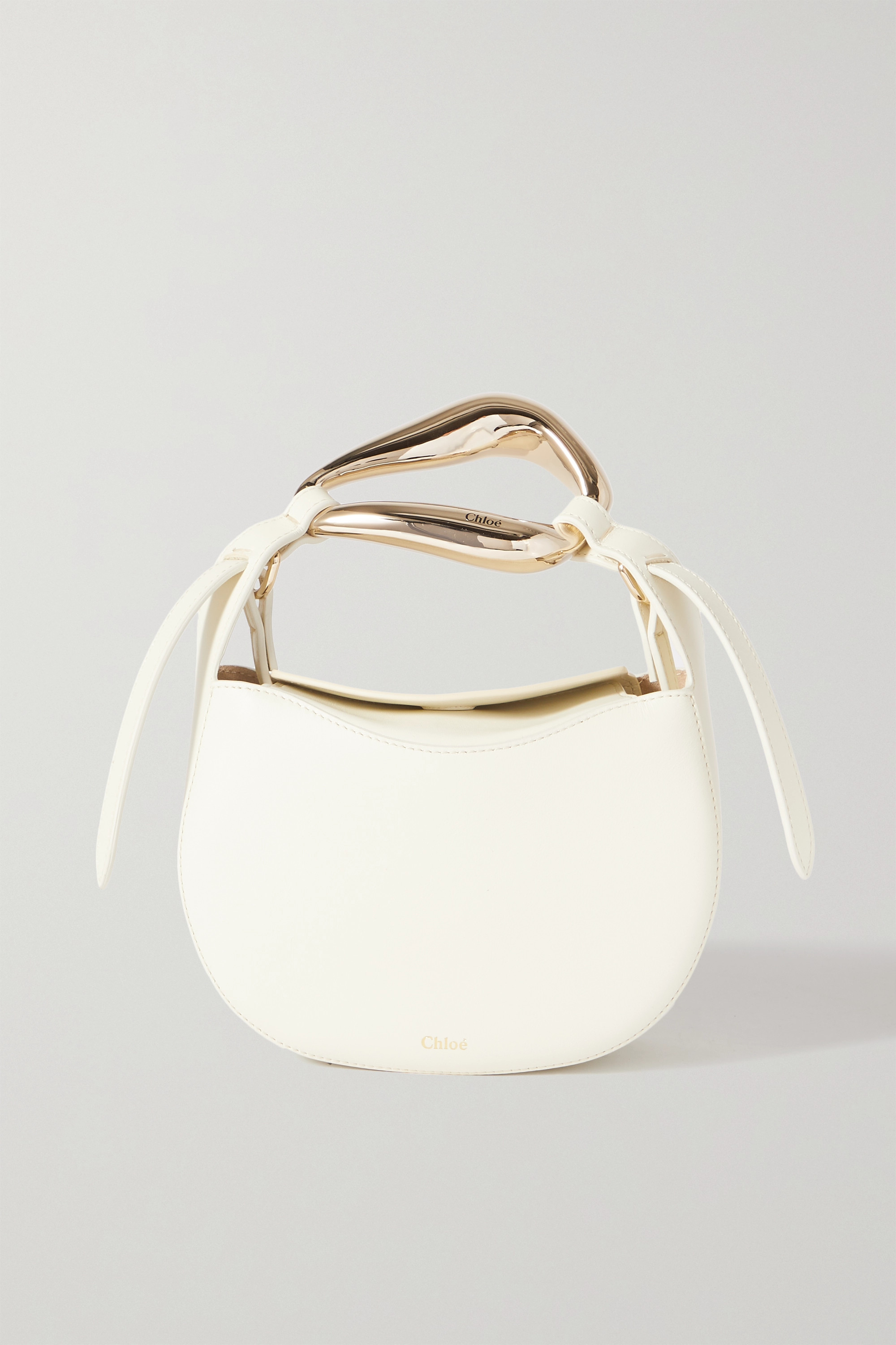 Chloé - Kiss small leather tote