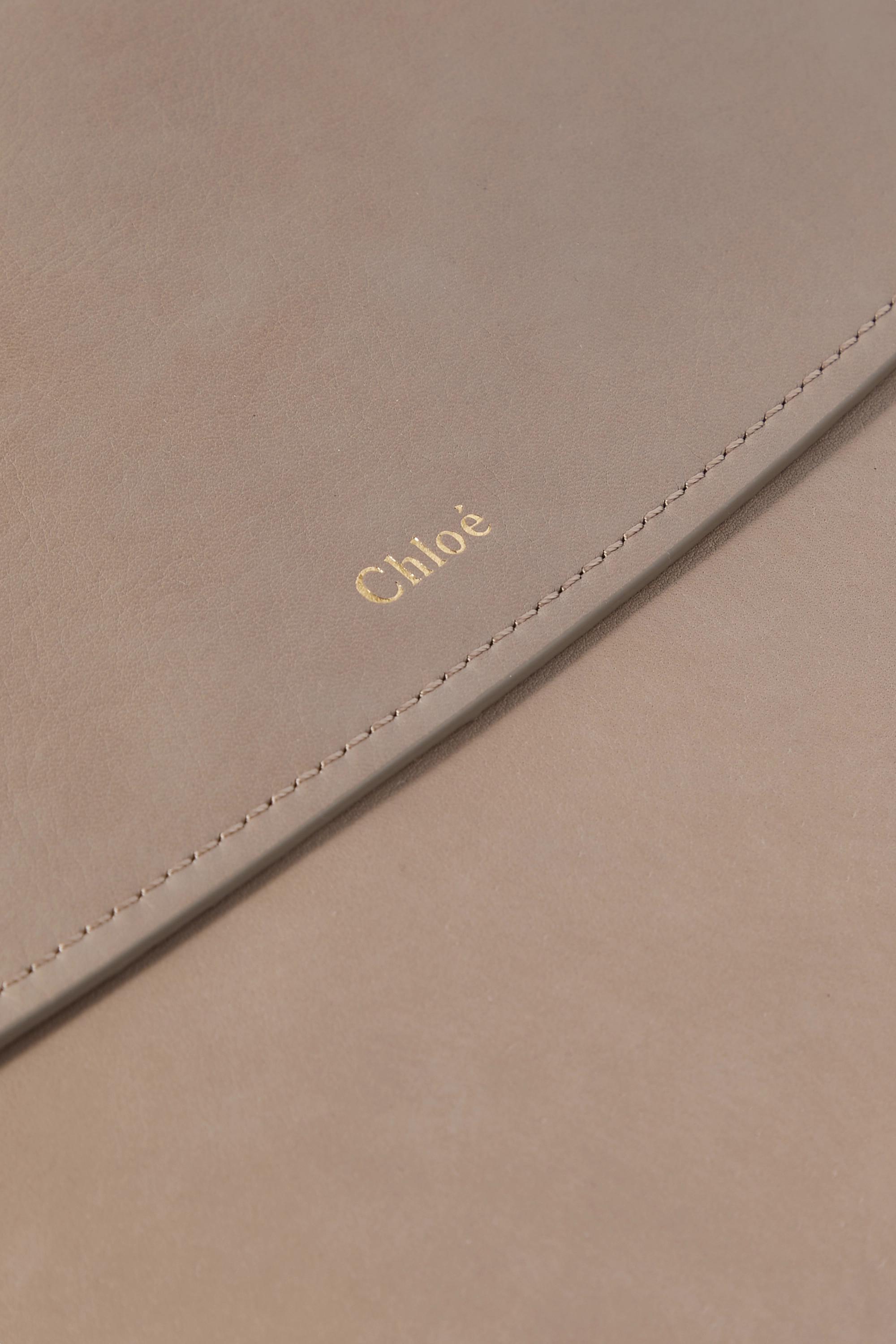 Chloé Kiss leather shoulder bag