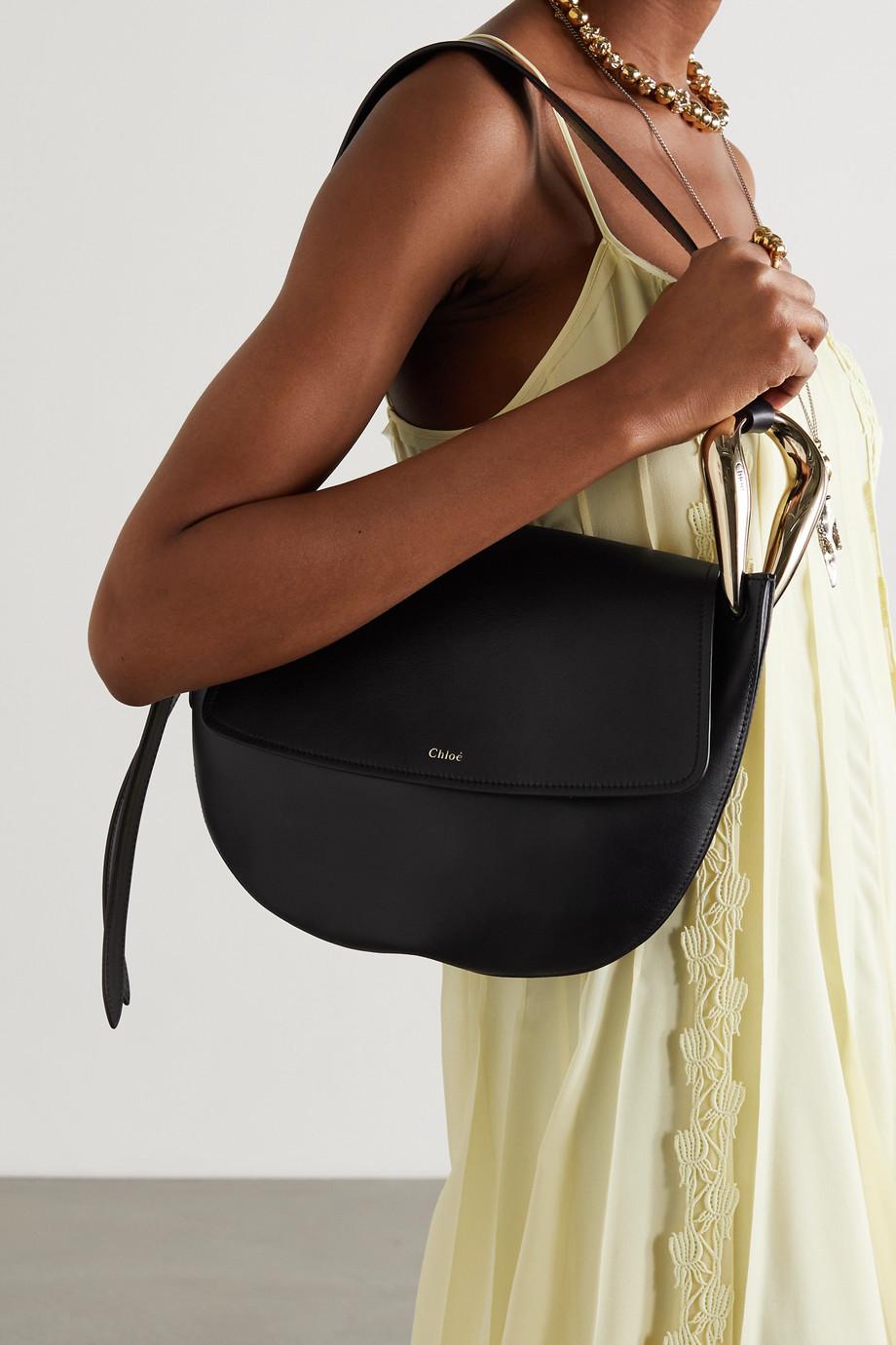 Chloé Kiss small leather shoulder bag