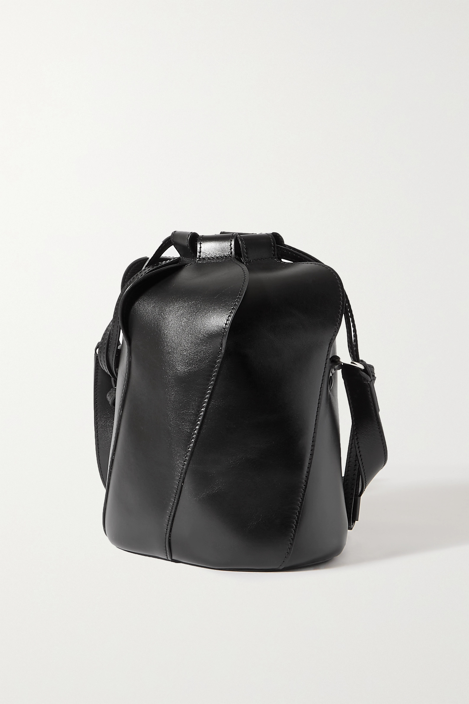 Chloé Tulip small paneled leather bucket bag