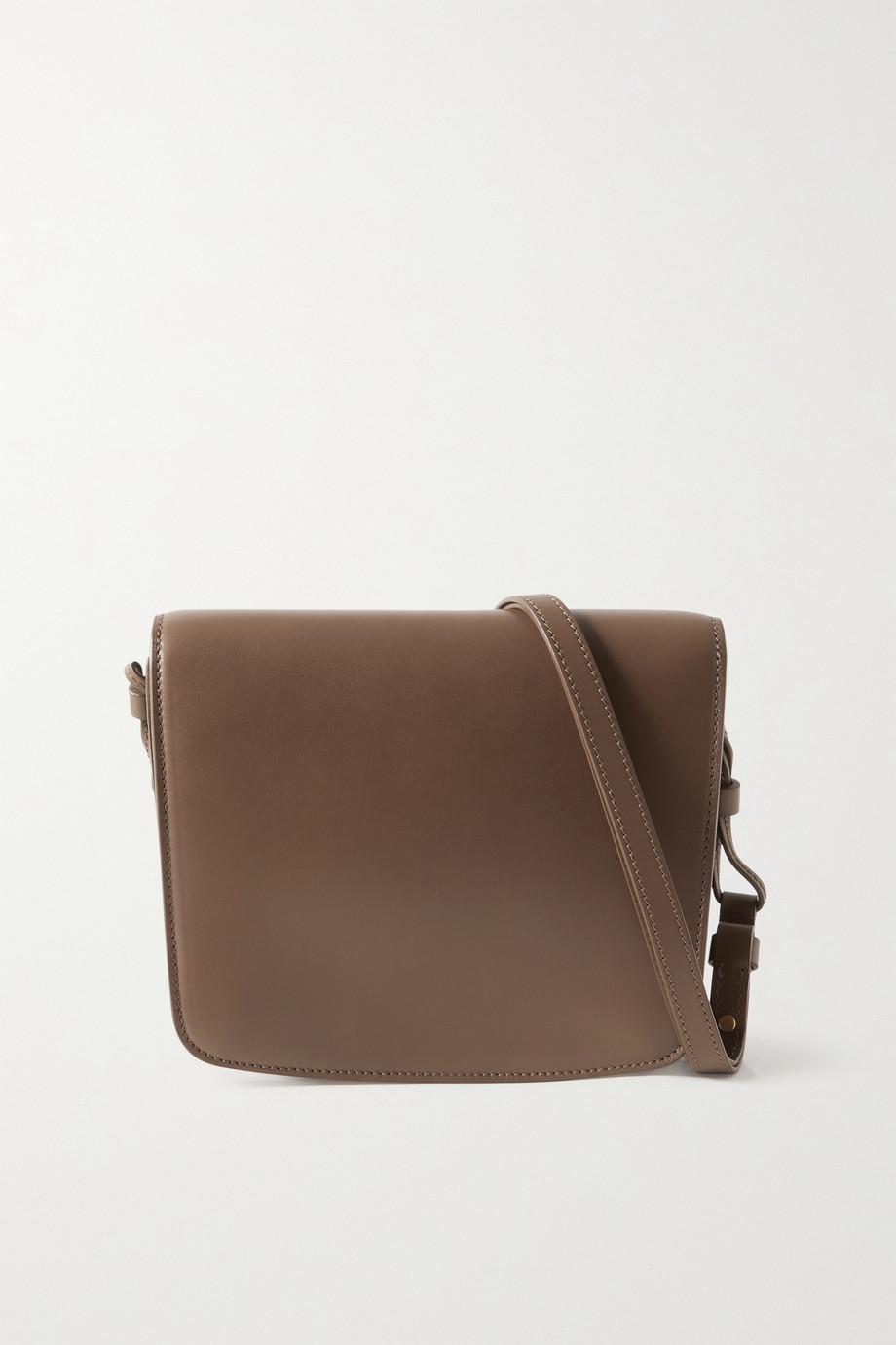 The Row Julien large leather shoulder bag
