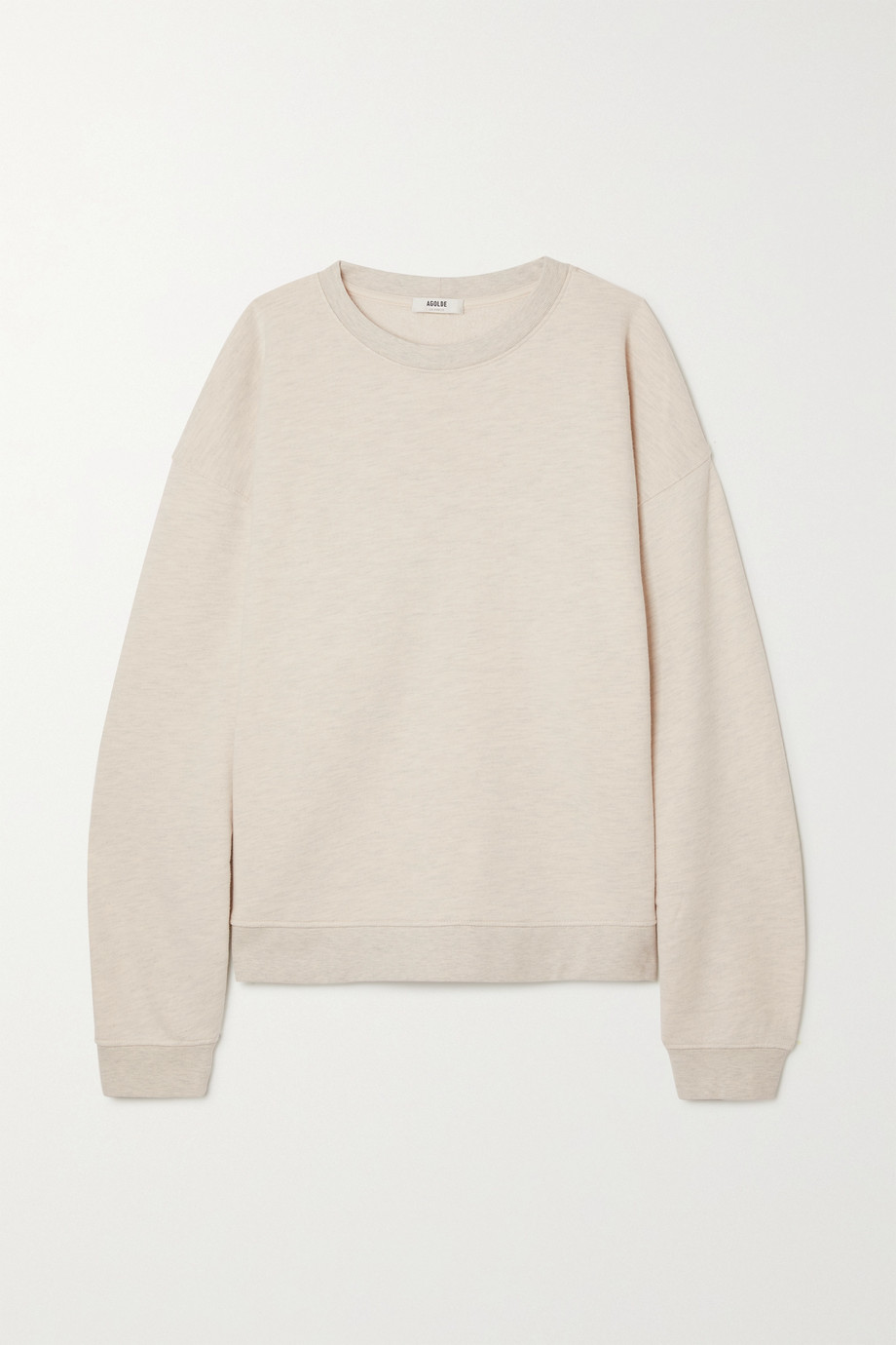 AGOLDE Nolan cotton-blend jersey sweatshirt