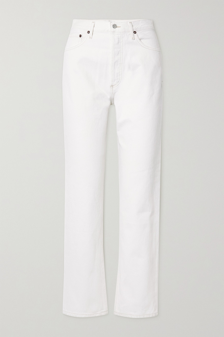 AGOLDE '90s Pinch Waist high-rise straight-leg jeans